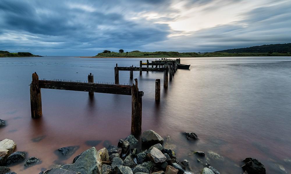 Fotoreise Irlands Norden - Bunagee Pier