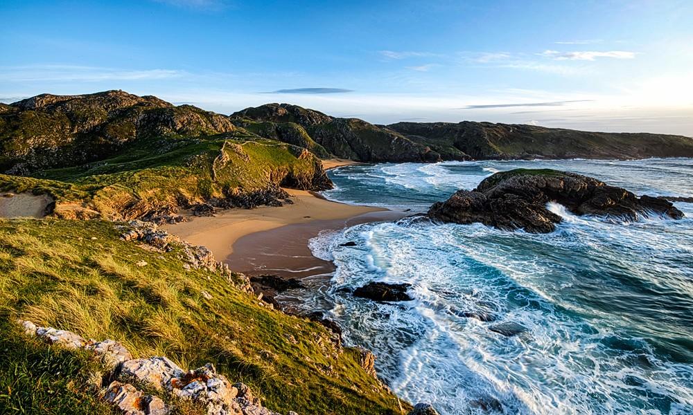 """Fotoreise Irlands Norden - Boyeeghter Bay """"Murder Hole"""""""