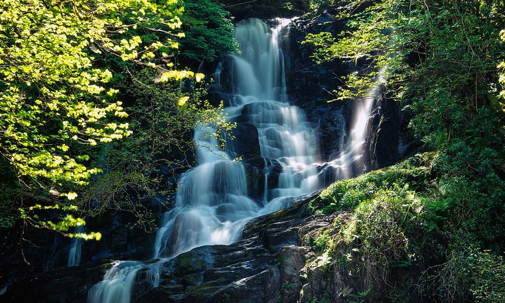 Irland Fotoreise - Torc Wasserfall